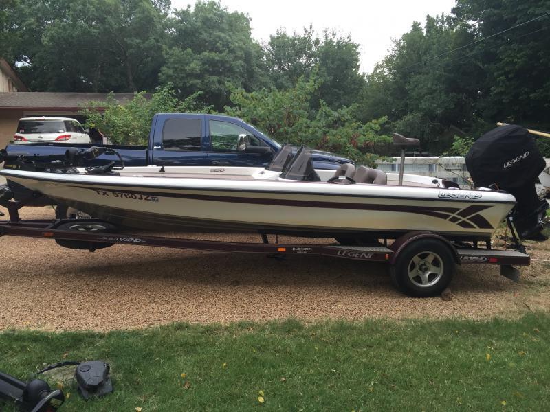 Angler Boat Throttle Control : Sold legend le bass boat k boats