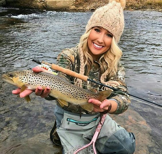 The gallery for april vokey for Trout fishing in texas