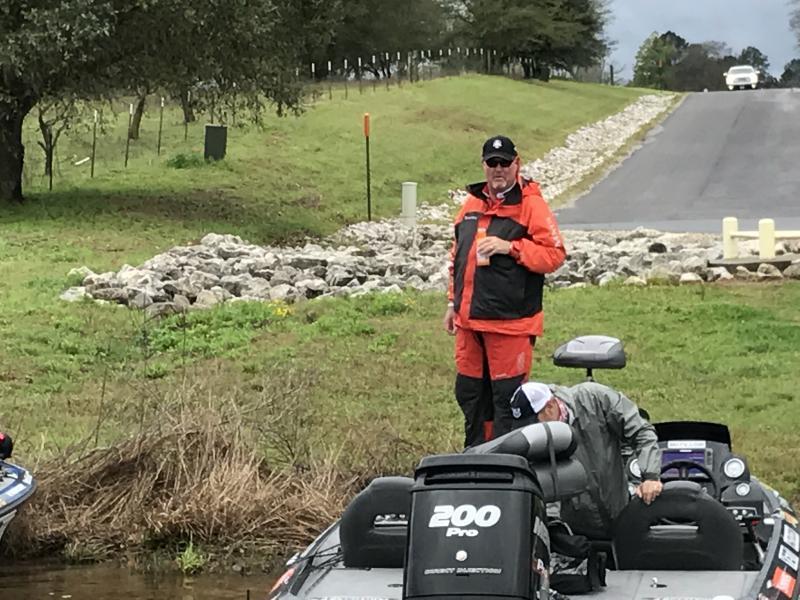 Major league fishing on lake nacogdoches today bass for Major league fishing com