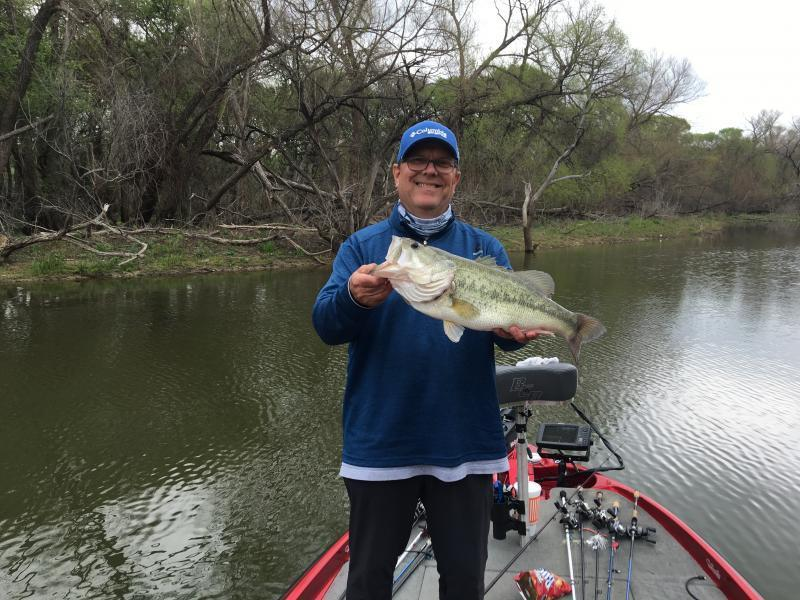 Joe pool march 19 bass fishing texas fishing forum for Joe pool lake fishing report