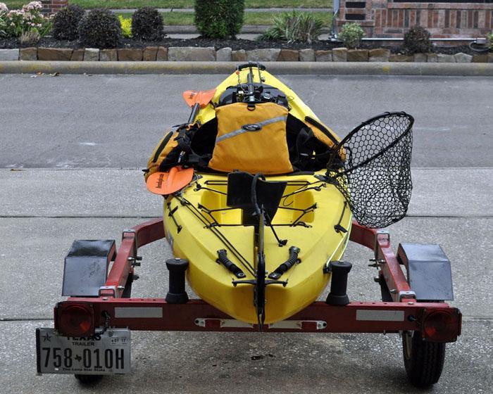harbor freight boat trailer 62668 kayak fishing texas fishing