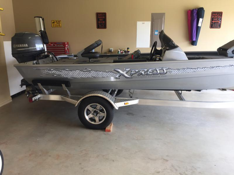 2013 xpress striker 17 39 bass boat w 50hp yamaha low for Yamaha tyler tx