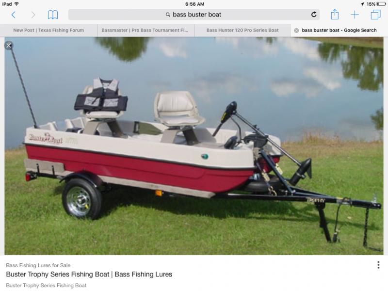 Plastic bass fishing boats
