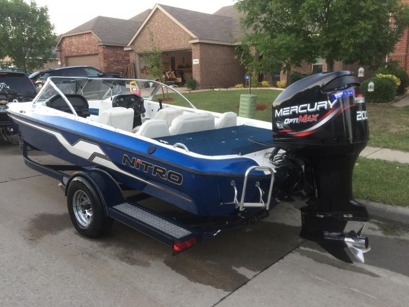 1998 nitro 205 ssf fishing boat for sale boats 4 sale for Texas fishing forum boats for sale