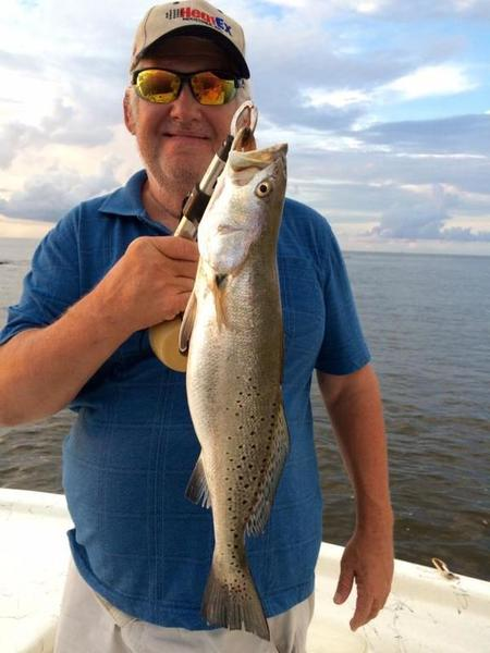 Sabine pass jetties speckled trout sharks inshore for Sabine pass fishing report