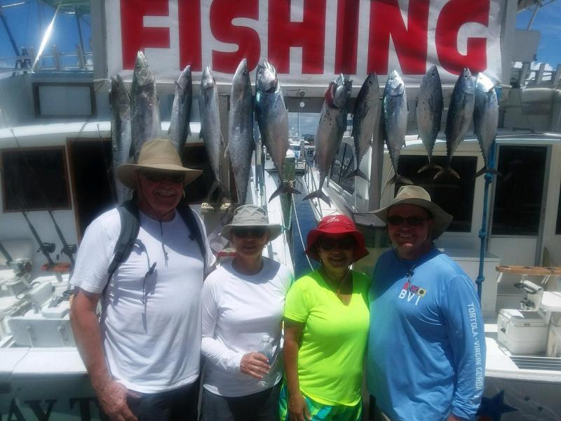 Deep sea fishing charters topshotfishing happy day today for Is today a good fishing day