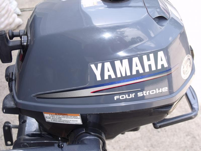 Yamaha 2 5 Hp Four Stroke Portable Tiller Handle Outboard