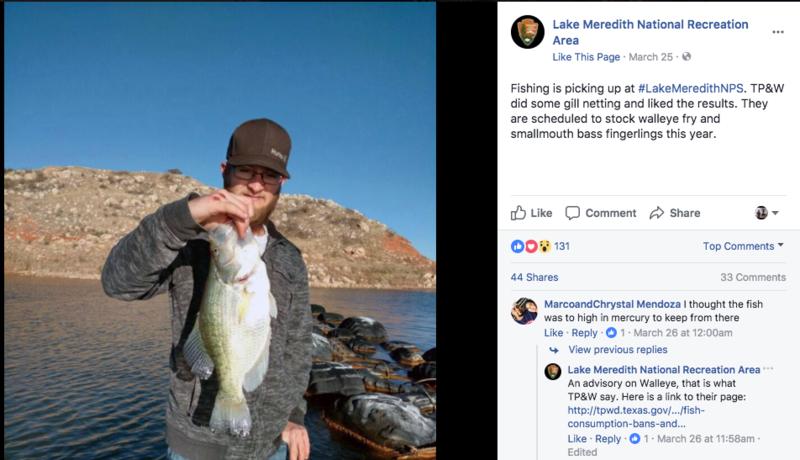 Lake Meredith- Panhandle Area   Bass Fishing   Texas Fishing