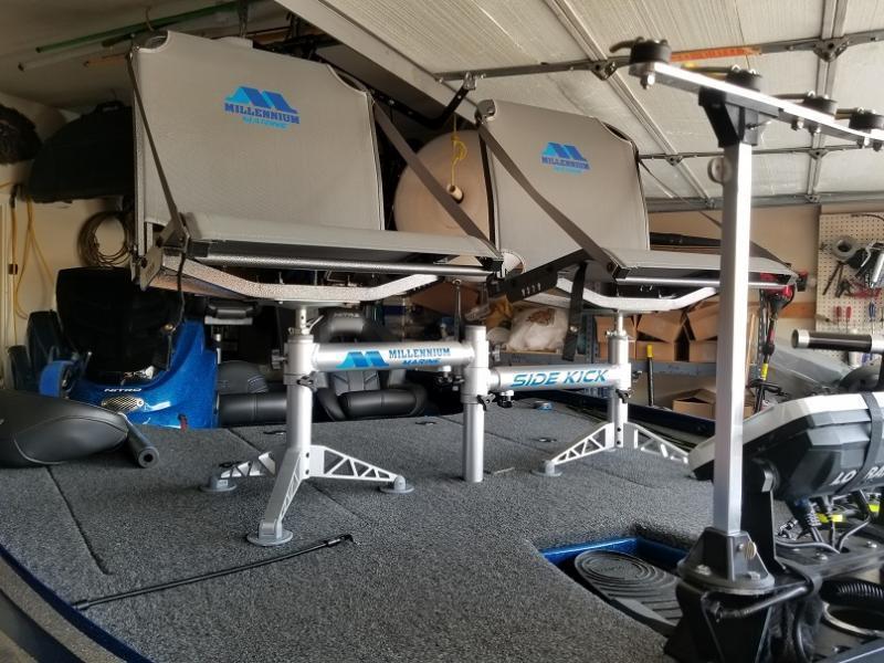 Millennium double seat update crappie fishing texas