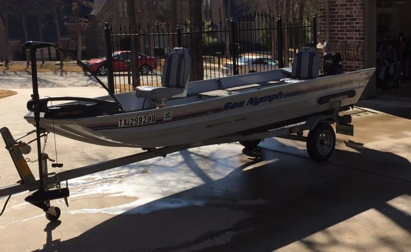 Tx 150 sea nymph for sale boats 4 sale texas fishing forum for Fishing boats for sale in texas