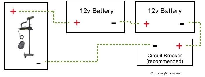 Seaark 24v Trolling Motor Wiring Diagram Block And Schematic. Trolling Motor Battery Wiring Diagram 24 Volt