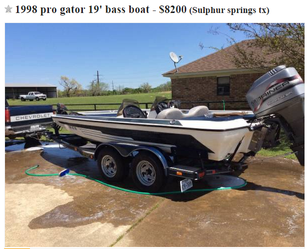 Fishing from a real bass boat - Texas Fishing Forum