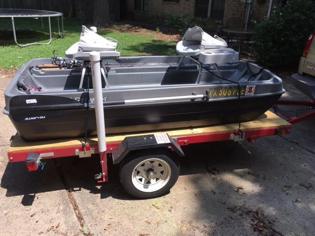 Need Info On Trailering 2 Man Pond Boat Texas Fishing Forum