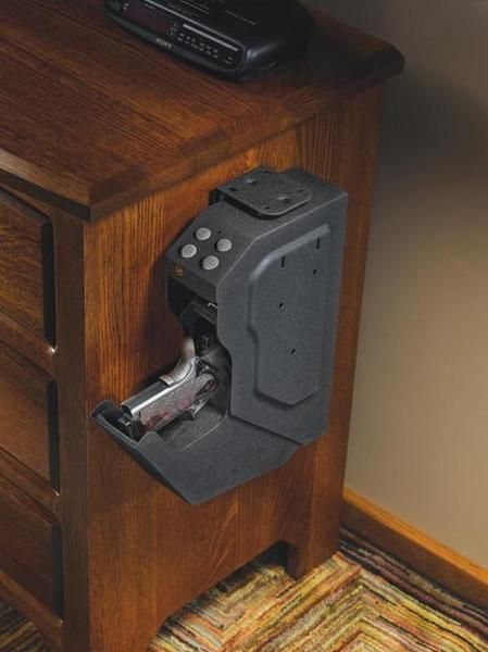 bedroom gun safe bedside handgun safe rifles shotguns amp handguns 10481