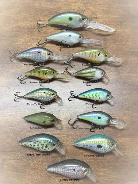 Storm's Edge Custom Painted Lures - Texas Fishing Forum