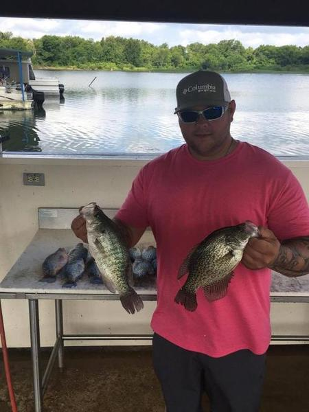 Crappie trips with Guide Josh Priest | Crappie Fishing ...