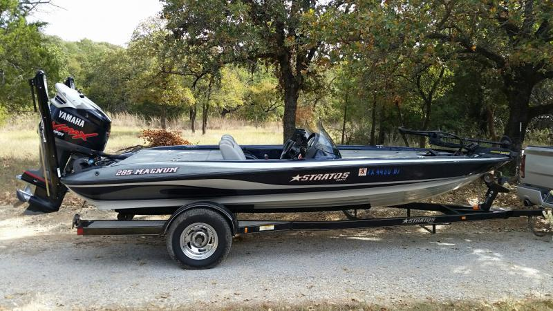 2006 Stratos 285 Magnum Bass Boat 17 000 Texas Fishing