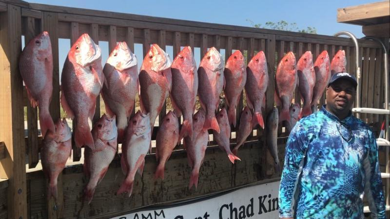 1 seat left on Private Charter Deep Sea Fishing trip + Texas