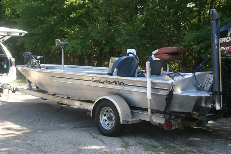 Reduced 2015 19 Aluminum Fishing Boat For Sale Texas