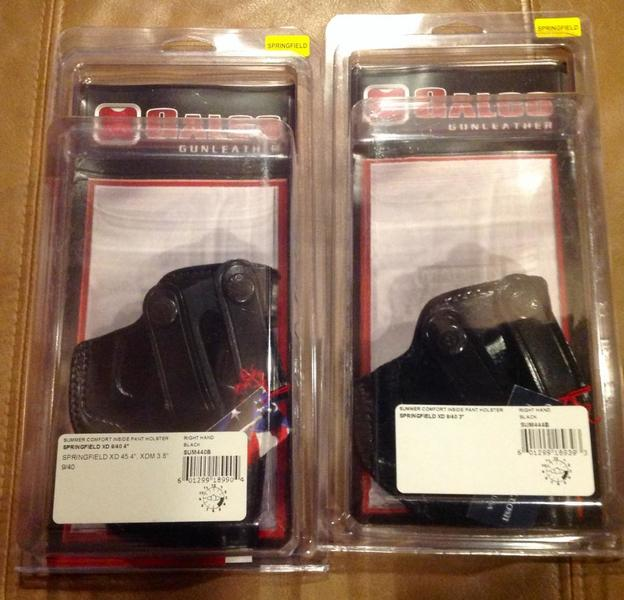 Springfield XD Holsters (Mod 2 & XDM), Drago pistol case